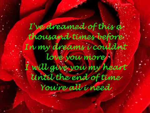 My Valentine Lyrics Martina Mcbride Youtube
