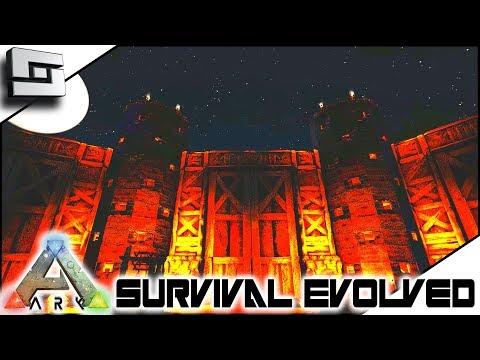 ARK: Survival Evolved - Base Wall Building! E8 ( Modded Ark Primal Fear )