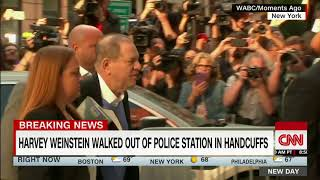 Harvey Weinstein arrested on rape charges