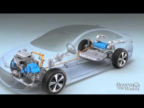 Hyundai Sonata Hybrid Behind The Wheel Battery