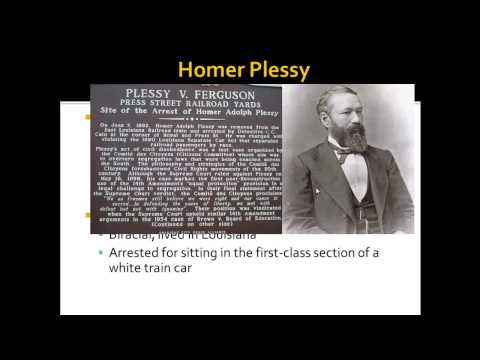 APUSH Review: Plessy v. Ferguson