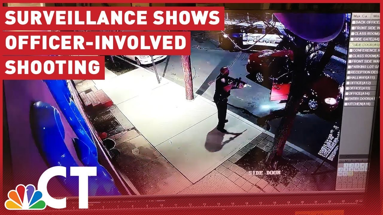 Officer-Involved Shooting Caught on Camera | NBC Connecticut