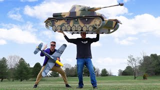 How to Build a Giant Tank!? 💥