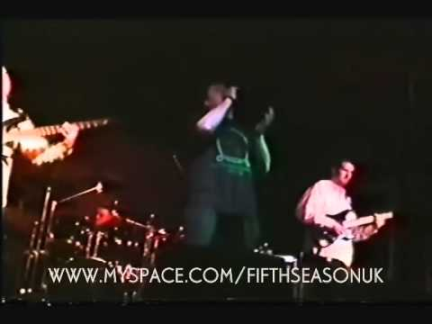 FIFTH SEASON 'GREEN-GREY' LIVE @ THE BREWERY UK 1998