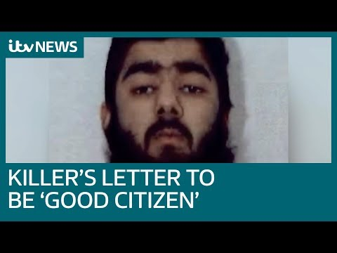 London Bridge killer wrote letter asking for deradicalisation course to be 'good citizen' | ITV News