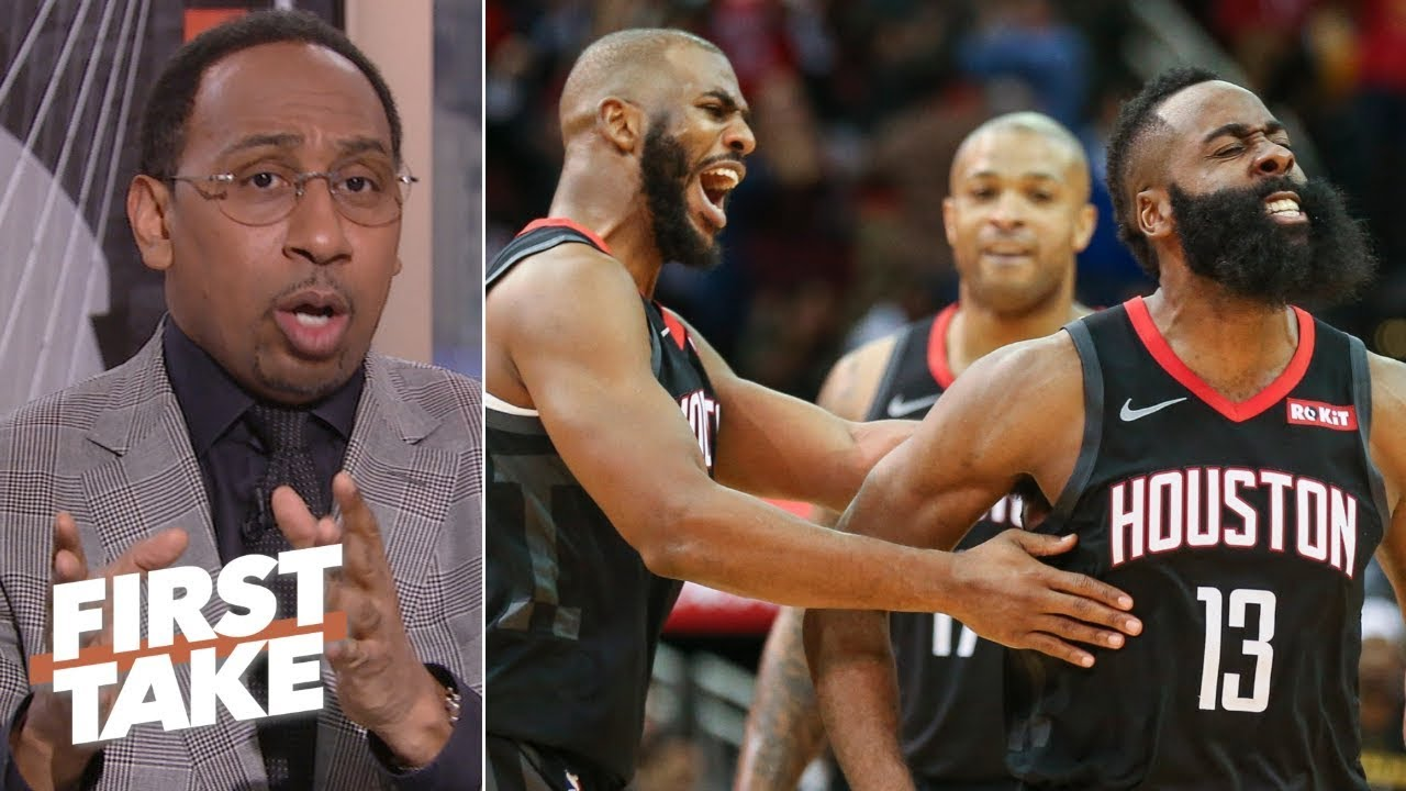 Stephen A. questions Rockets ability to be a top three seed in West | First Take