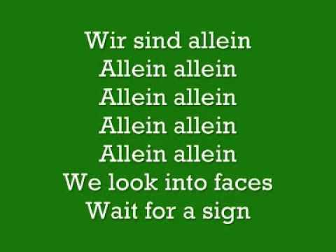Polarkreis 18 Allein Allein Lyrics   YouTube