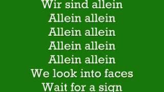 Polarkreis 18 Allein Allein Lyrics   YouTube