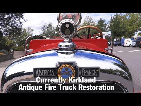 Kirkland TV: Currently Kirkland - #270 - Antique Fire Truck Restoration