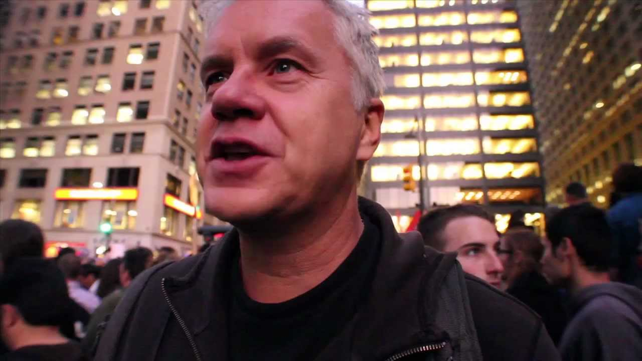 The Ninety Nine : Interviews - Tim Robbins (Occupy Wall ...