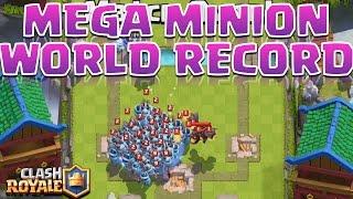 Clash Royale - REAL Mega Minion WORLD RECORD!