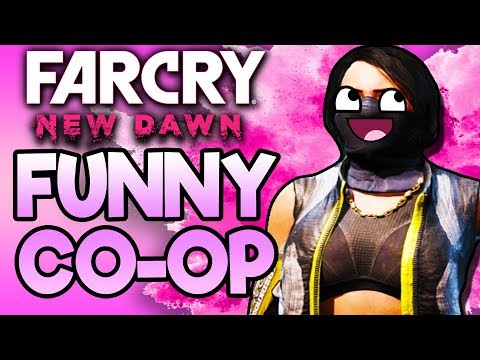 THE FUNNIEST CO-OP GAME! | Funny Far Cry New Dawn Co-Op Moments Part 1