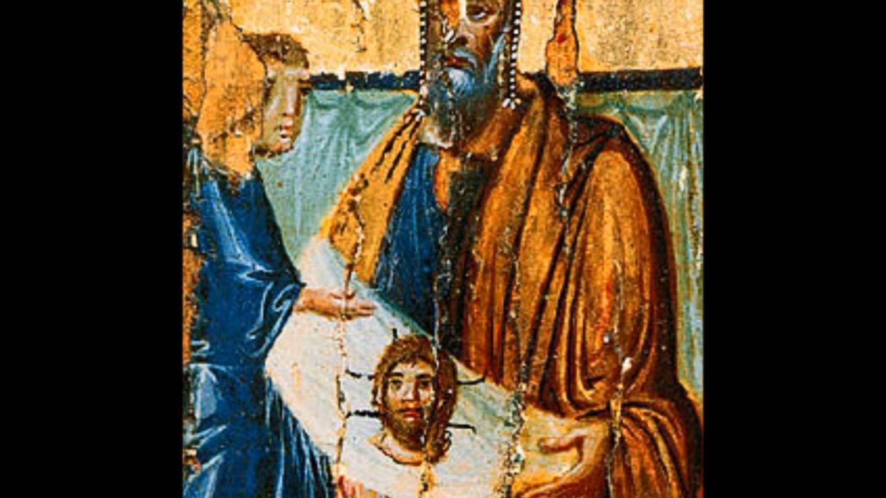 Resultado de imagem para Carta do rei Abgaro a Jesus