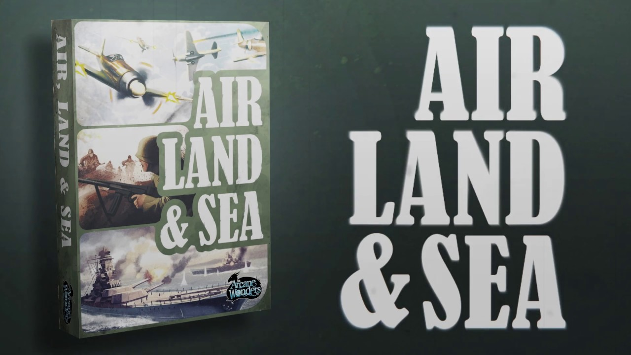 Air, Land, & Sea - Achieve Victory in the Theaters of Combat