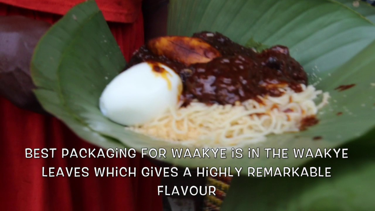 Street Food in Ghana - Nyame Na Aye Waake & Rice Kitchen