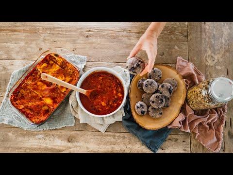 Easy Vegan Meal Prep Recipes! (postpartum prep)