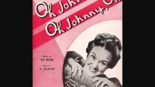 Orrin Tucker and His Orchestra with Bonnie Baker - Oh Johnny, Oh Johnny, Oh! (1939)