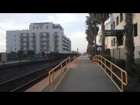 Amtrak 580 arriving Oceanside