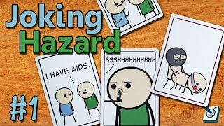 Most Offensive Party Game! || Joking Hazard || #1 (Cyanide and Happiness Game!)