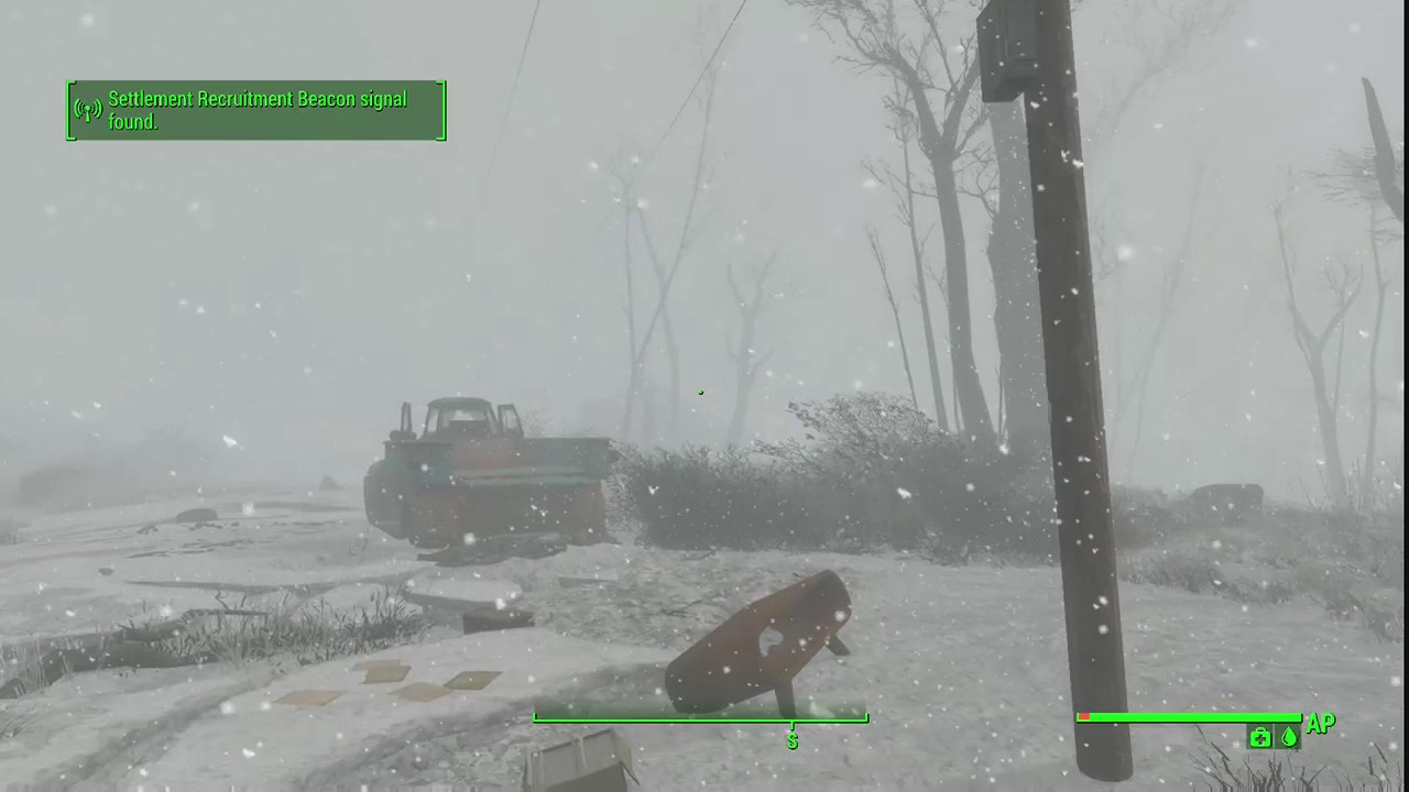 fallout 4 snow weather