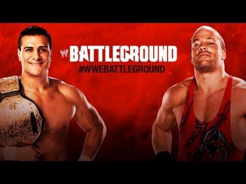 Rob Van Dam Vs. Alberto Del Rio - WWE '13 Battleground Simulation