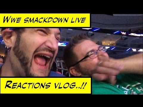 Duhop WWE SMACKDOWN LIVE WELLS FARGO CENTER PHILADELPHIA REACTION VLOG