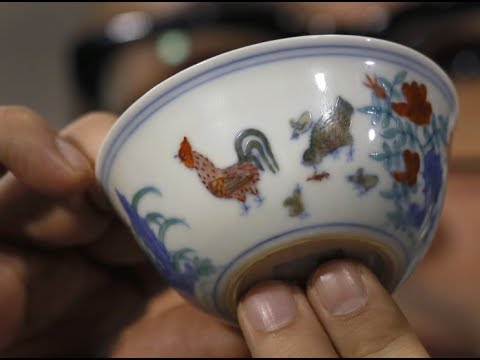 Chinese 'Chicken Cup' sells for £19.6 million at auction