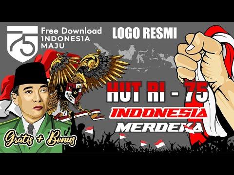 Free Download LOGO RESMI HUT RI 75 Bonus 3D Vector Semangat45.