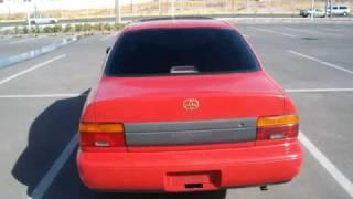 Subasta de Autos Mexico Mazatlan Sinaloa Toyota Corolla 1993 en Venta