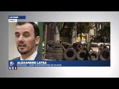 Interview pour LCI sur la presse russe et l'Ukraine (06-05-2014)