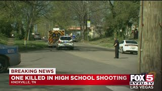 One Person Dead, Officer Injured After Shooting At A High School In Knoxville, Tennessee
