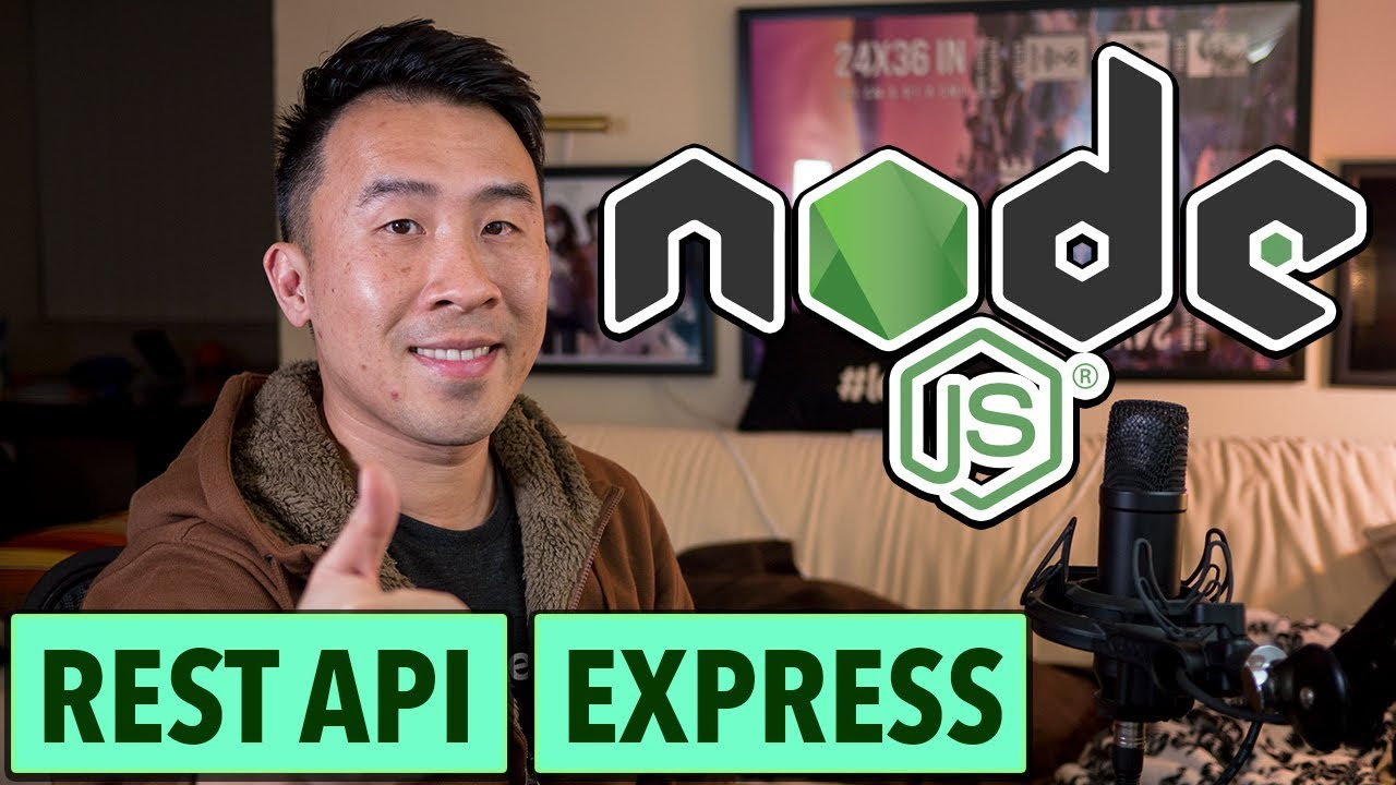 NodeJS REST API: Super Simple Setup - Express & NPM (Ep1)