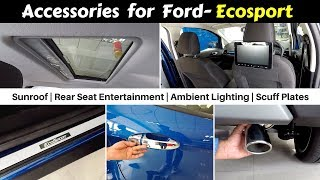 Accessories for Ecosport with Prices | Ecosport Signature | Hindi | Ujjwal Saxena