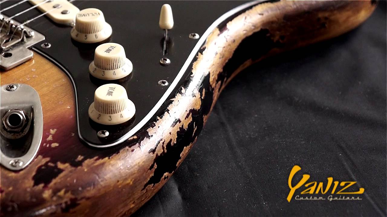 Stevie Ray Vaughan Number 1 Replica By Yaniz Custom Guitars