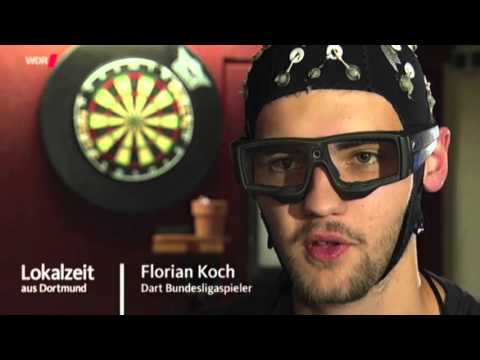 SMARTING EEG and eye-tracker: dart players from Germany