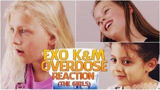 British Kids React to   EXO (K&M) 'Overdose' [The Girls]   ocUKids Kpop #5
