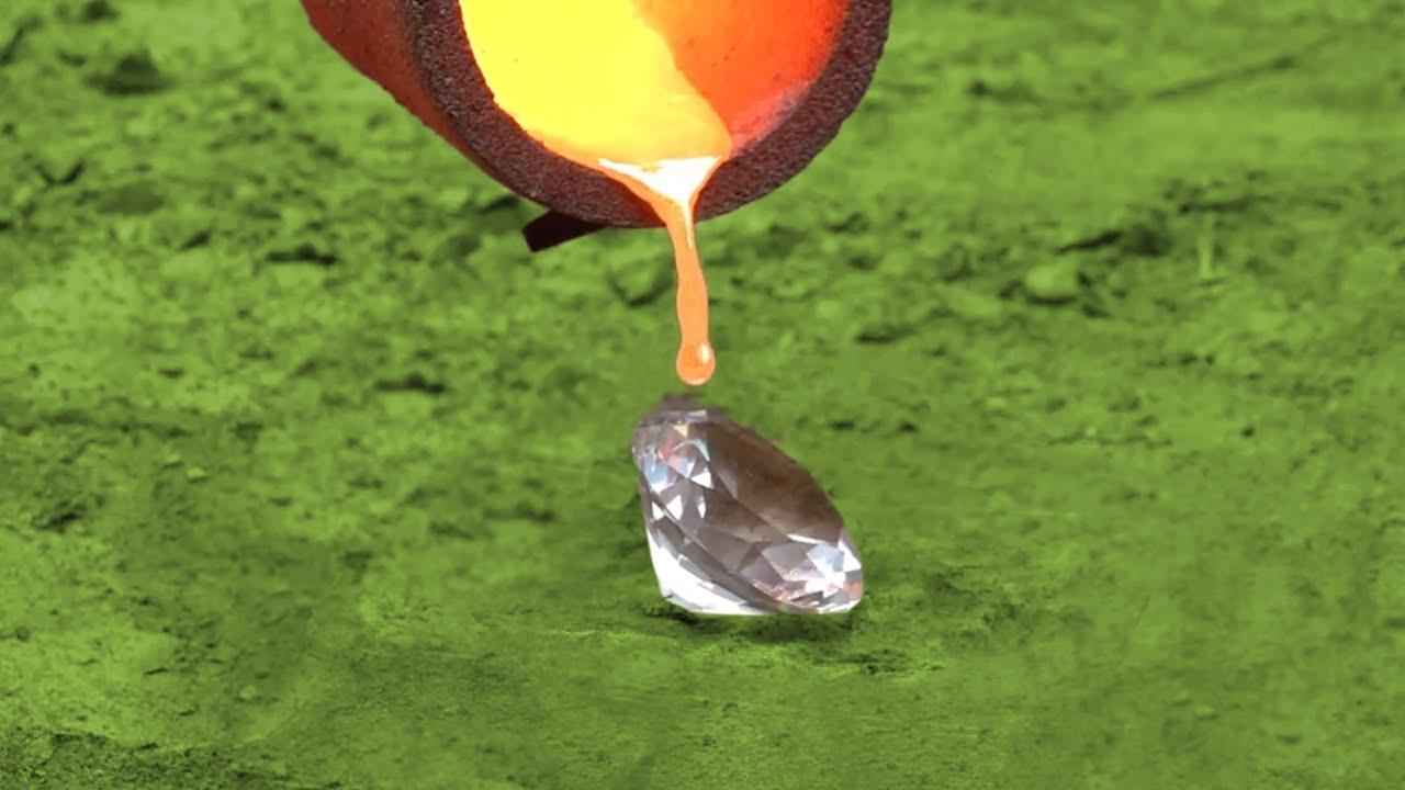 Experiment: Lava vs Diamond