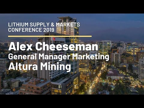 Alex Cheeseman, Altura Mining: Timing To Remain Key For Lithium Producers