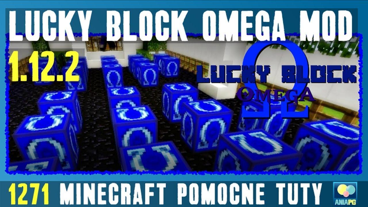 Lucky Block Omega 1 12 2 - Jak zainstalować mody - PL Instalacja moda do  Minecraft 1 12 2