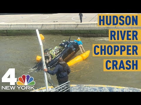 NYC Helicopter Crash: Chopper Splash Lands in Hudson After Takeoff  NBC New York