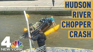 NYC Helicopter Crash: Chopper Splash Lands in Hudson After Takeoff | NBC New York