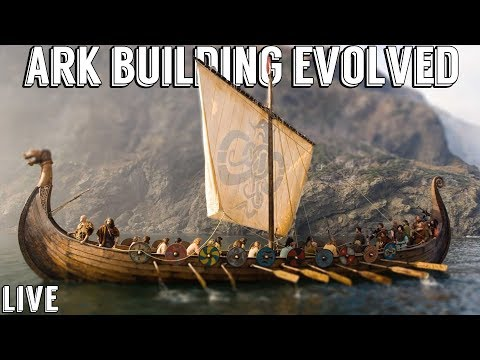 Sunday Morning Ark w/ UTC Replay :: BUILDING A VIKING LONG SHIP :: Ark Building Evolved Live