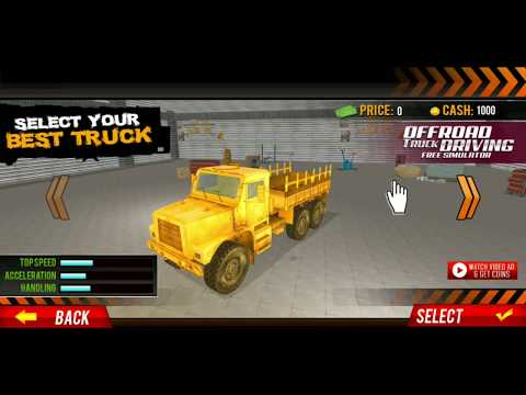 Offroad Truck Driving Simulator: Free Truck Games: Android HD Gameplay