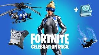 NEW *FREE* SKIN PACK REWARDS in Fortnite! (Fortnite Celebration Pack Rewards)
