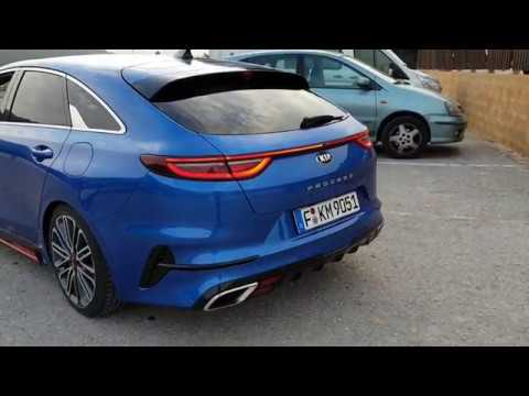 [EXCLUSIVE] Kia ProCeed GT & Ceed GT: sound, revving