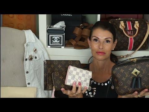 9e20b6253ce6 Whats in my bag WIMB  Louis Vuitton Saintonge  lvlovermj - YouTube