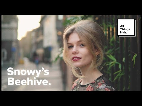 How To Do Snowy's Beehive | All Things Hair