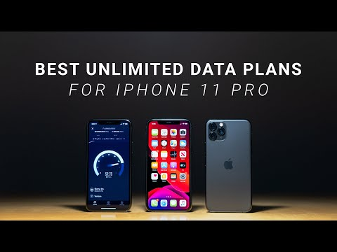 Best Unlimited Data Plans For IPhone 11 Pro!