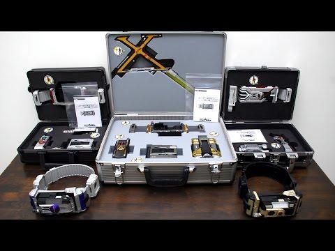 All Kamen Rider 555 DX Rider Gear & Gear Box Showcase [1080p HD] 仮面ライダー555 全ライダーギアとギアボックス紹介