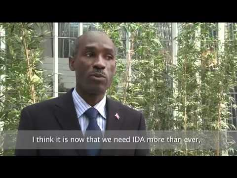 World Bank IDA Testimonials: Ronald Baudin, Minister of Economy and Finance, Haiti